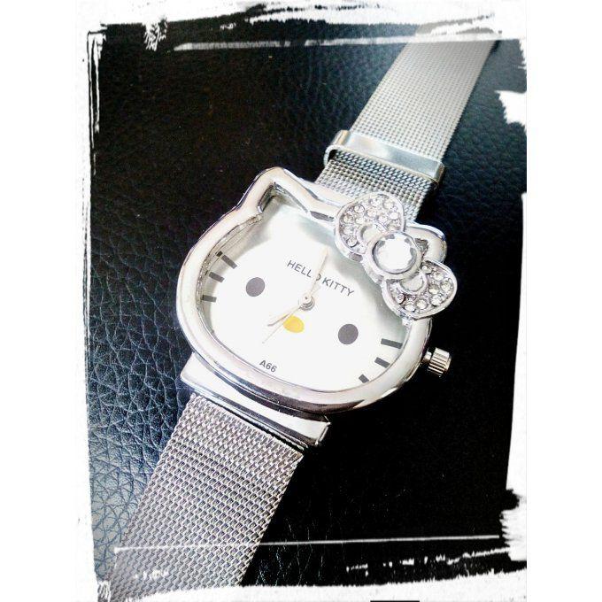 Montre  Kitty Silver